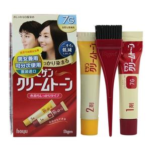 日本Bigen 美源染发剂 植物染发膏 遮盖白发一洗黑
